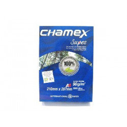 PAPEL BOND A4 90 GR CHAMEX